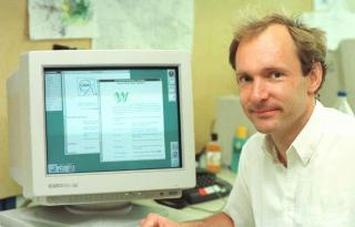 History of internet sir lee