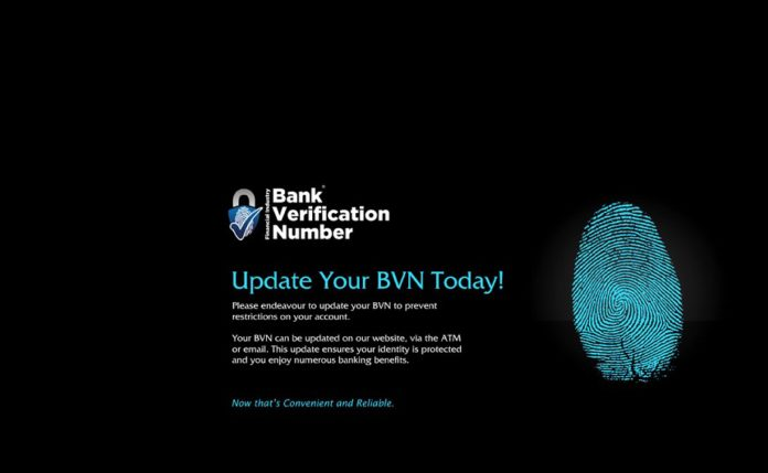 The major goal of Bank Verification Number (BVN) project is to use biometric information as a means of first identifying and verifying all individuals that have account(s) in any Nigerian bank