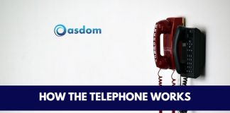 How telephone works