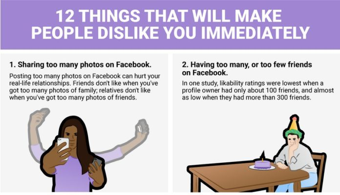 Oasdom.com 12 things you do that makes people dislike you immediately