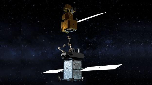 robots to refill satellites