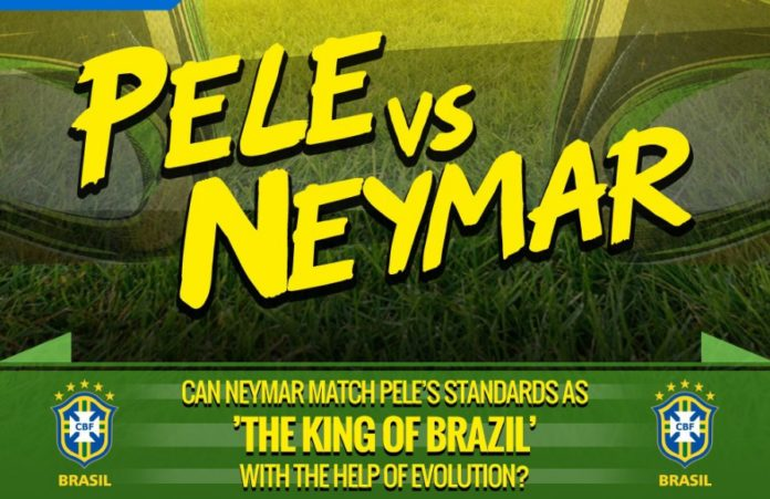 Oasdom.com King of Soccer Pele VS Neymarr
