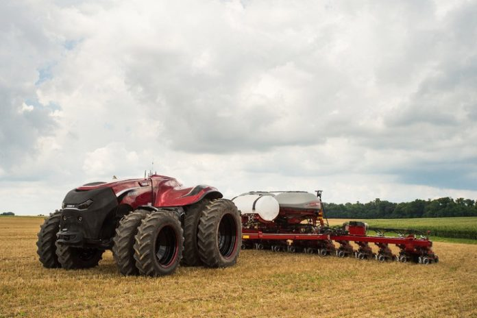 Anyone who thought Google's puny self-driving car was the most badass autonomous vehicle around has clearly never seen agricultural equipment that.........