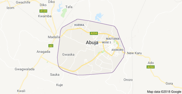 History Of Abuja How It Was Created Chosen As Nigerias - abuja map
