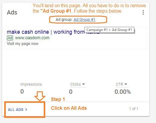 google adword setup