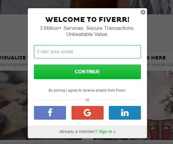oasdom.com - how to make money on fiverr- fiverr registration