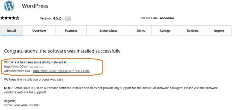 installing wordpress on namecheap hosting