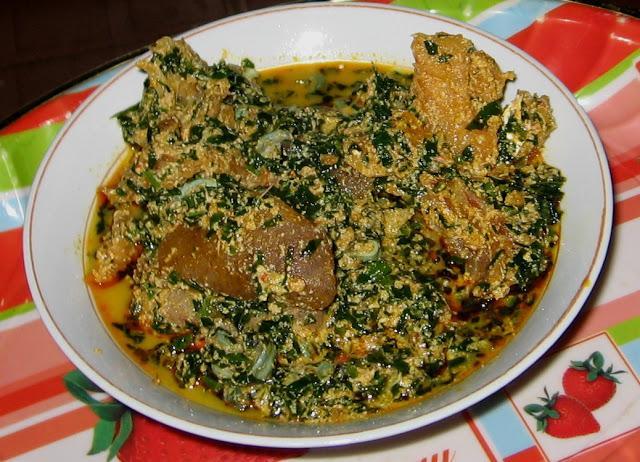 Egusi nigerian soup