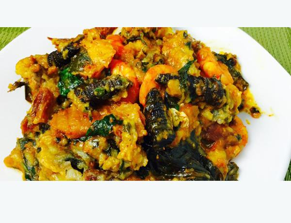 Ekpang Nkuwo - igbo food in Nigeria