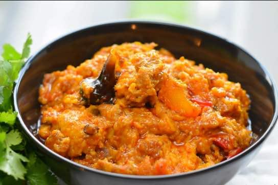 Nigerian food - ikokore