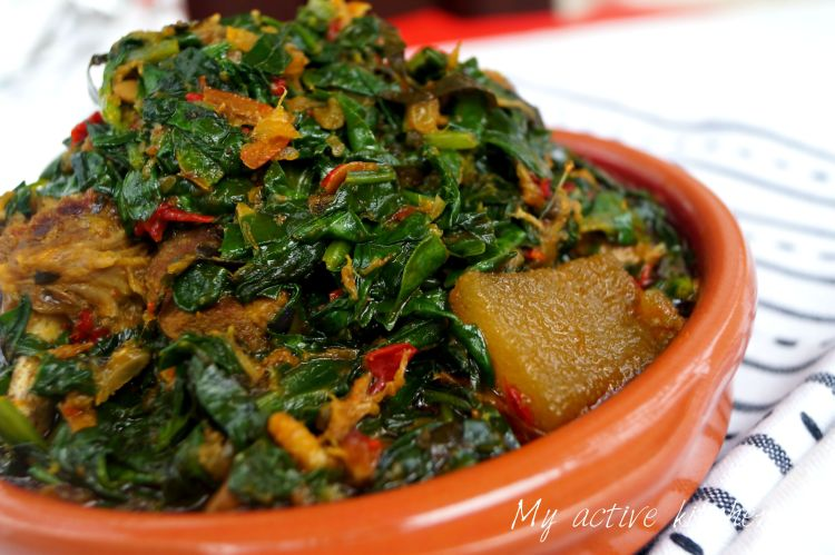Nigerian Food recipes - Efo Riro