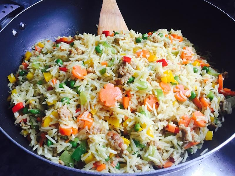Nigerian food - fried rice