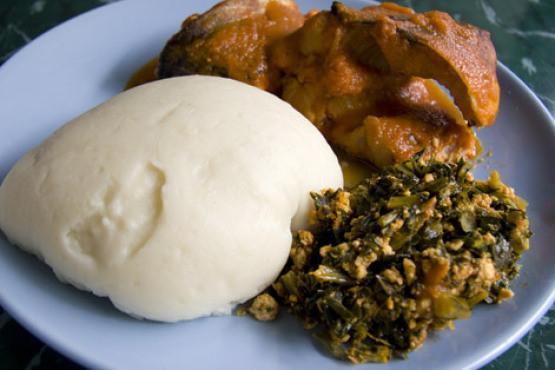 Tuwo Shinkafa - Hausa Nigeria meal