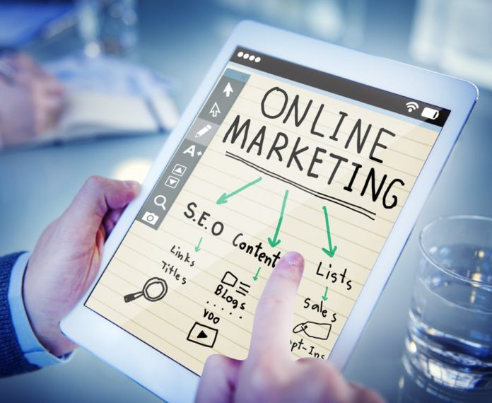 Online marketing isanything you do on the internetto put yourself or your businessin front of people&get them to buy from you. Here's everything you need