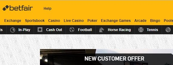 Betfair - free betting sites in Nigeria