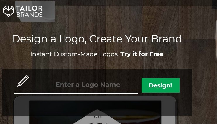 free logo design creator software - tailor brands