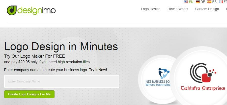 logo generator by designimo