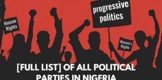 All registered and current list of political parties in Nigeria general elections