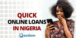girl knows how to get quick online loans in Nigeria with no collateral