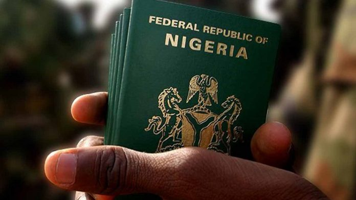 cost of Nigerian international passport
