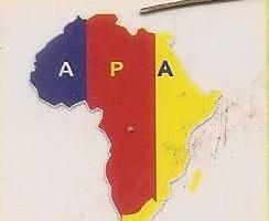 political party name - African peoples alliance APA
