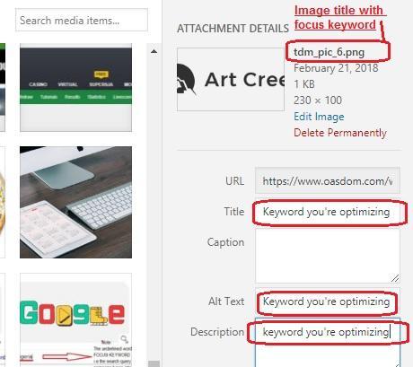 seo search engine optimization alt tag