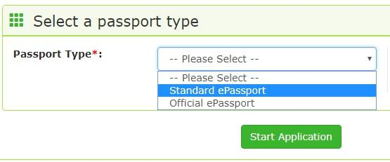 the two passport types in Nigeria