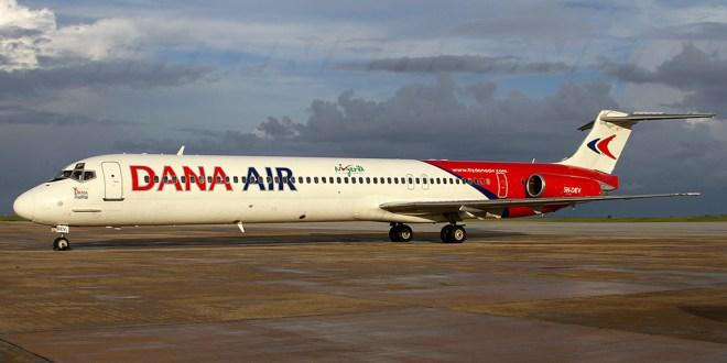 dana air- list of local airlines for domestic flight booking