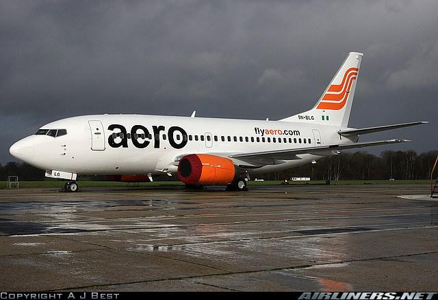 aero airlines - top local airlines in nigeria