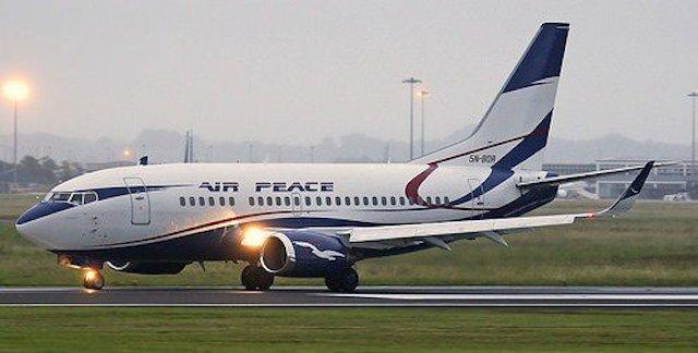 air peace airlines in Nigeria for domestic flights