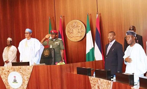 power sharing between the federal state and local government in Nigeria