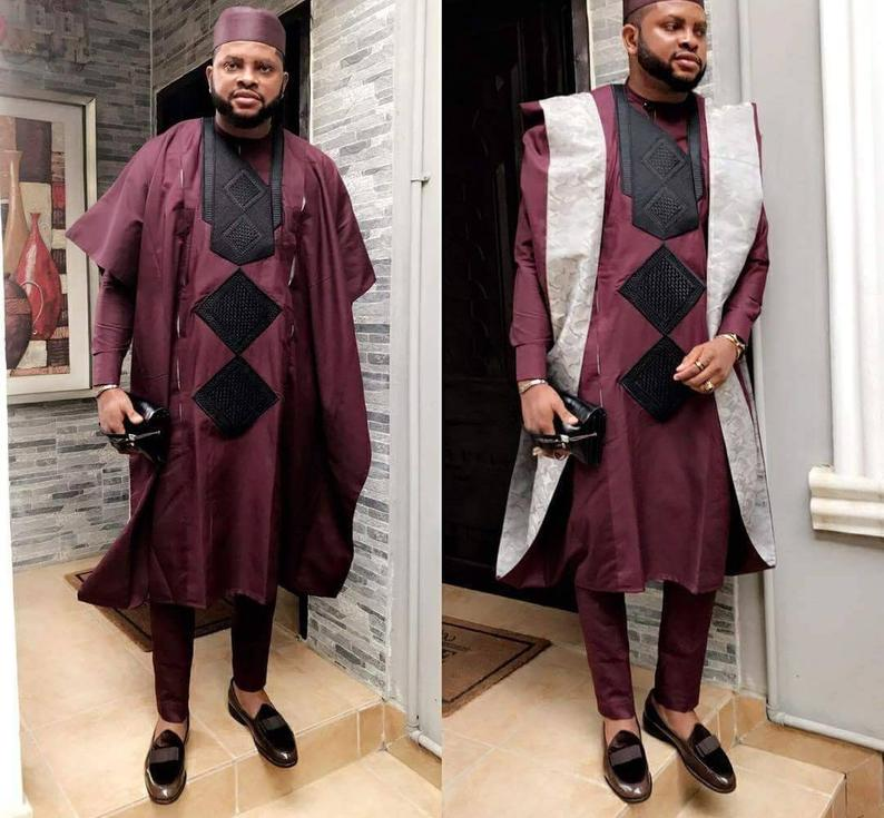 Agbada styles for males