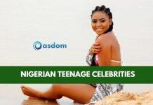 Oasdom List of top Nigerian Teenage Celebrities 2018