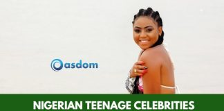 Oasdom List of top Nigerian Teenage Celebrities 2018