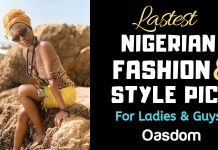 Pictures of Latest Nigerian Fashion and Style for Ladies and Guys