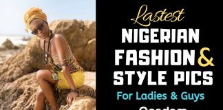Oasdom Pictures of Latest Nigerian Fashion and Style for Ladies and Guys