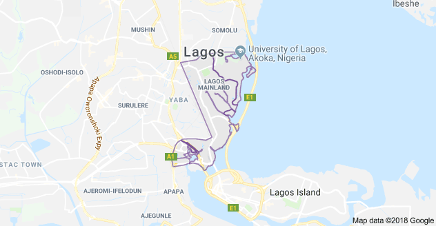 fashion schools in lagos mainland map