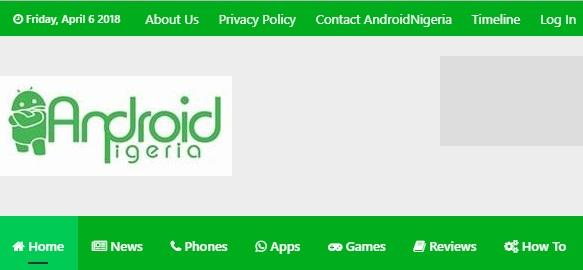 AndroidNigeria tech website in Nigeria