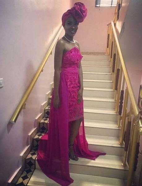 Aso ebi lace styles Nigerian Traditional Styles