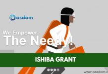 Oasdom.com Ishiba grant development and empowerment center 2018