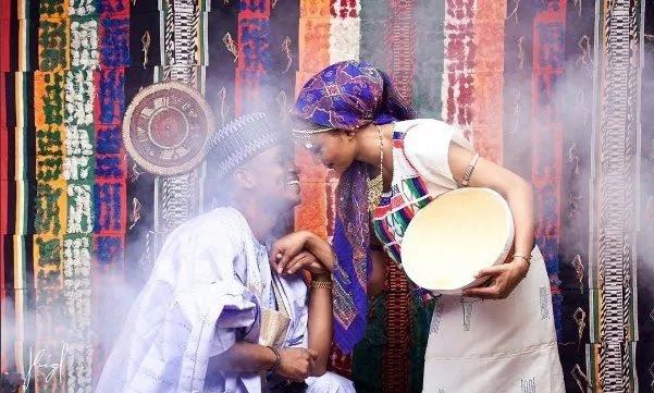 Nigerian Native attire styles for wedding in Nigeria