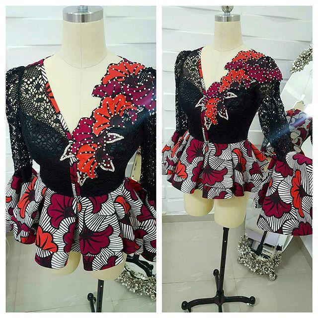 Nigerian fashion designers on instagram by Kathy anthony