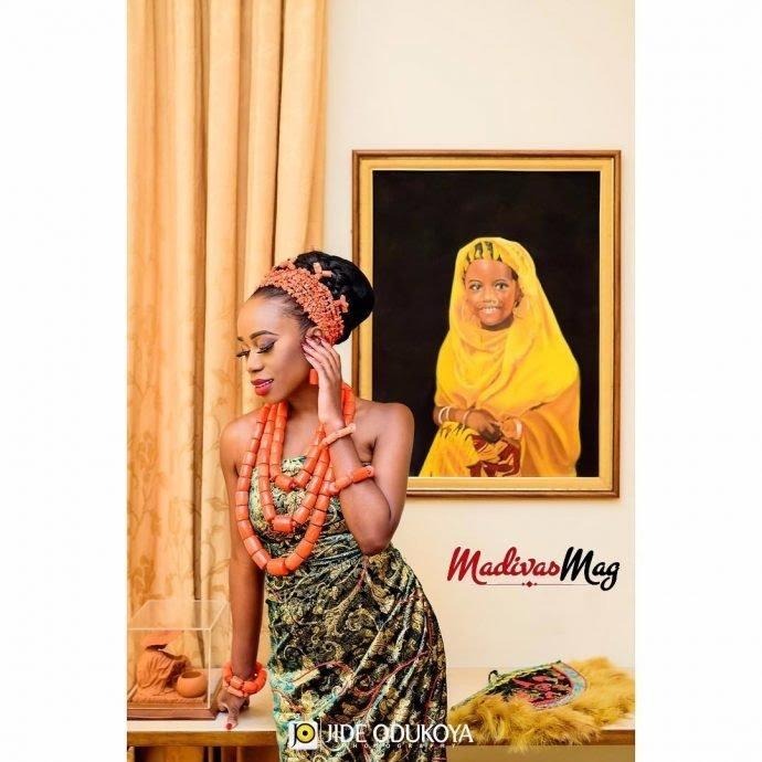 Nigerian native attire styles madivas - ladies wears
