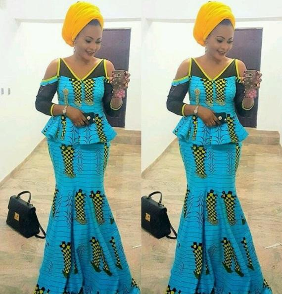 aso ebi blouse and skirts