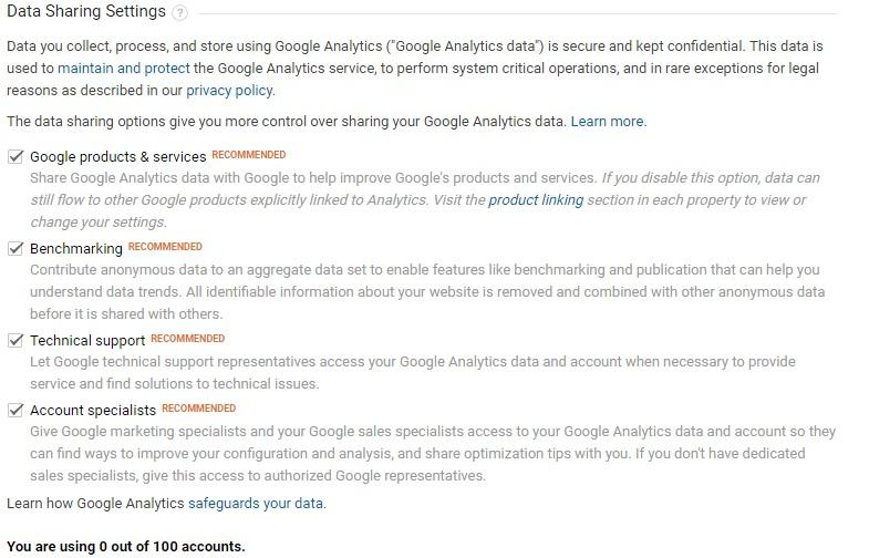 how to use google analytics tutorial - recommended features to tick