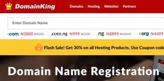 Oasdom.com sponsored domainking.ng hosting and registration
