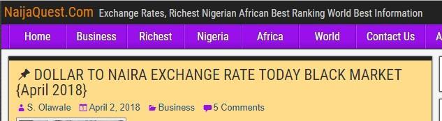 tech blogs in Nigeria - Naijaquest