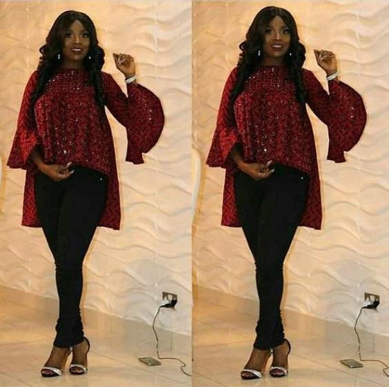 Ankara tops for fashion styles