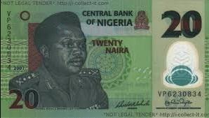 20 naira note
