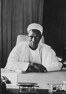 First Prime minister of Nigeria Sir Abubakar Tafawa Belewa